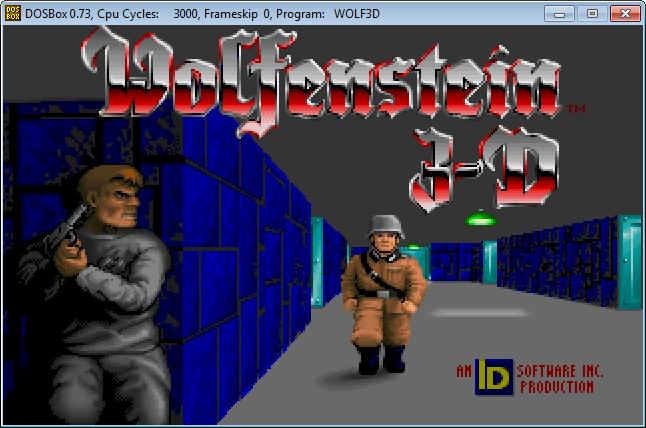 Wolfenstein 3-D - Publicado en 1992