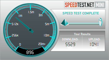 Test Velocidad - Speedtest.net Mini