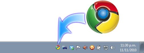 Minimizar Google Chrome a la Bandeja del Systema