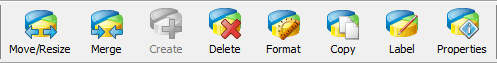 Partition Wizard Action Icons
