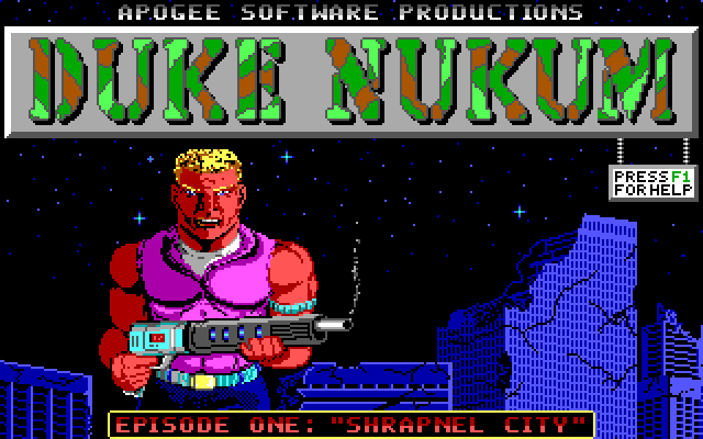 Duke Nukem I screenshot 1