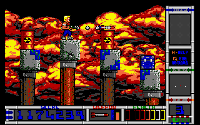 Duke Nukem II screenshot 2