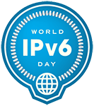 World IPv6 Logo