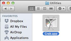 Aplicación Grab OS X