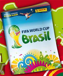 Album Virtual Panini Mundial Brasil 2014