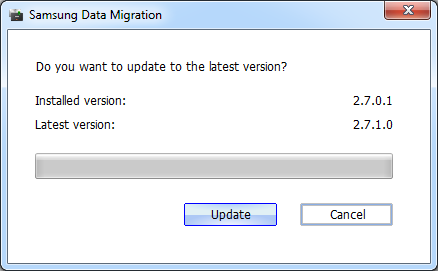 Samsung Data Migration Actualizar a ultima version